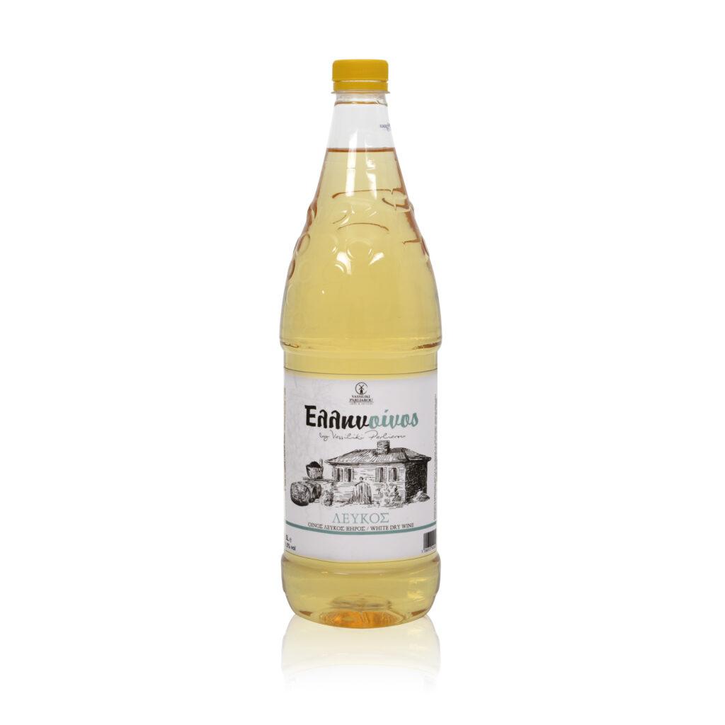 Ξηρό Λευκό κρασί PET 1.5l