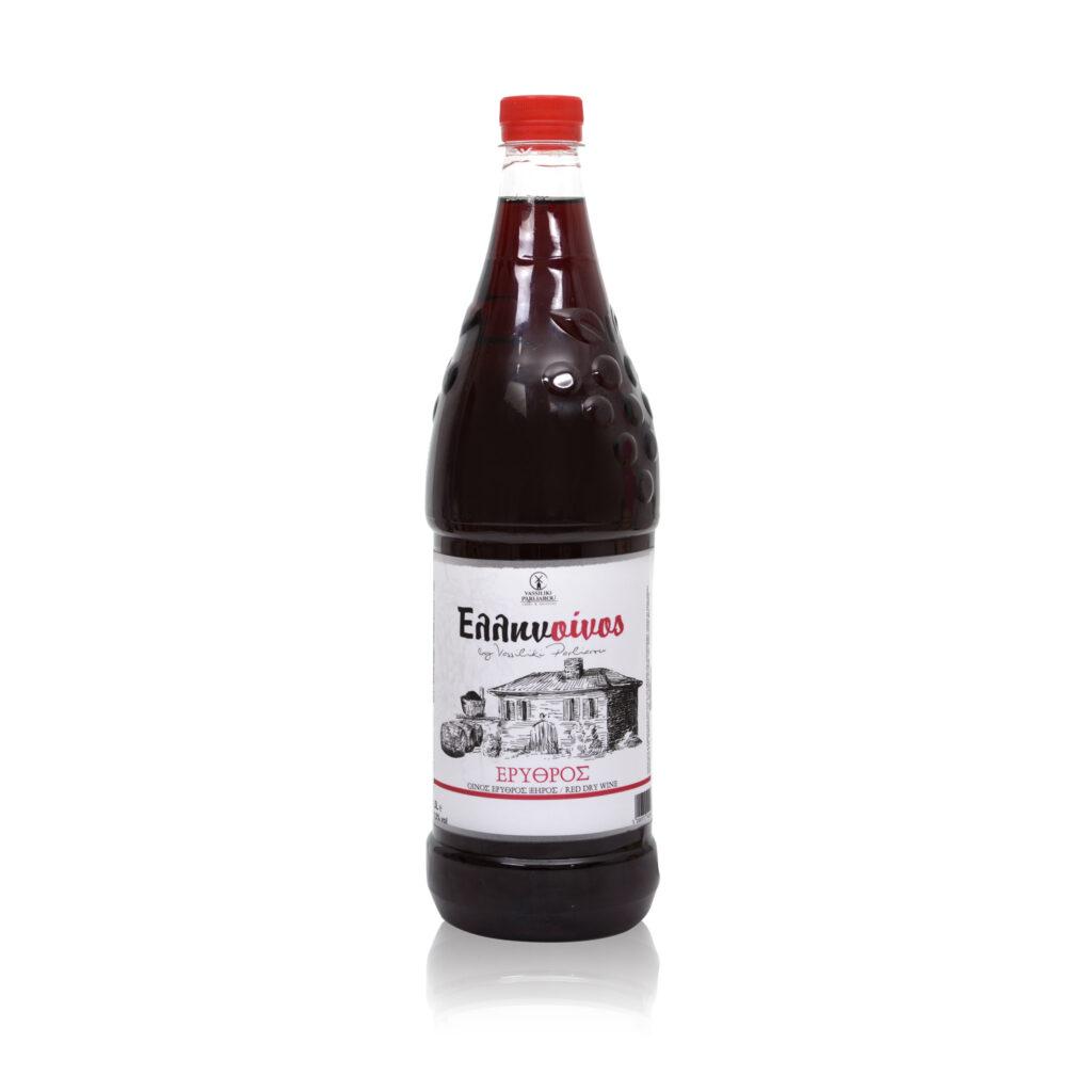 Ξηρό Ερυθρό κρασί PET 1.5l