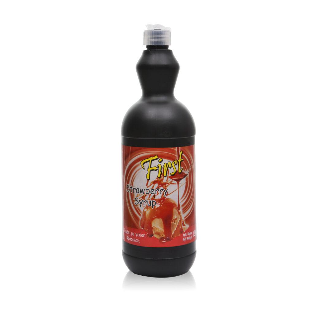 Σιρόπι Παγωτού με Γέυση Φράουλα