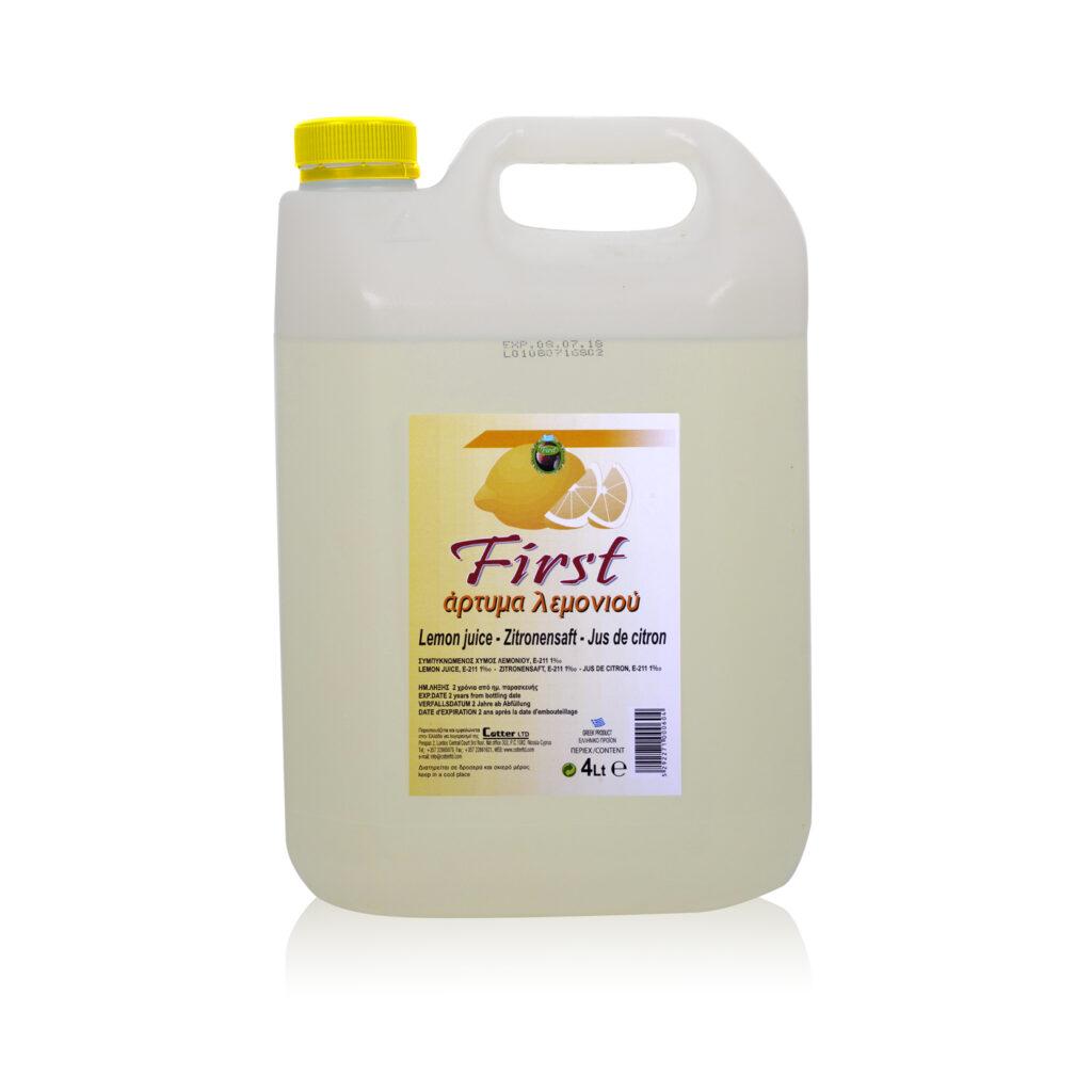 Lemon Dressing- Άρτυμα Λεμονιού 4lt