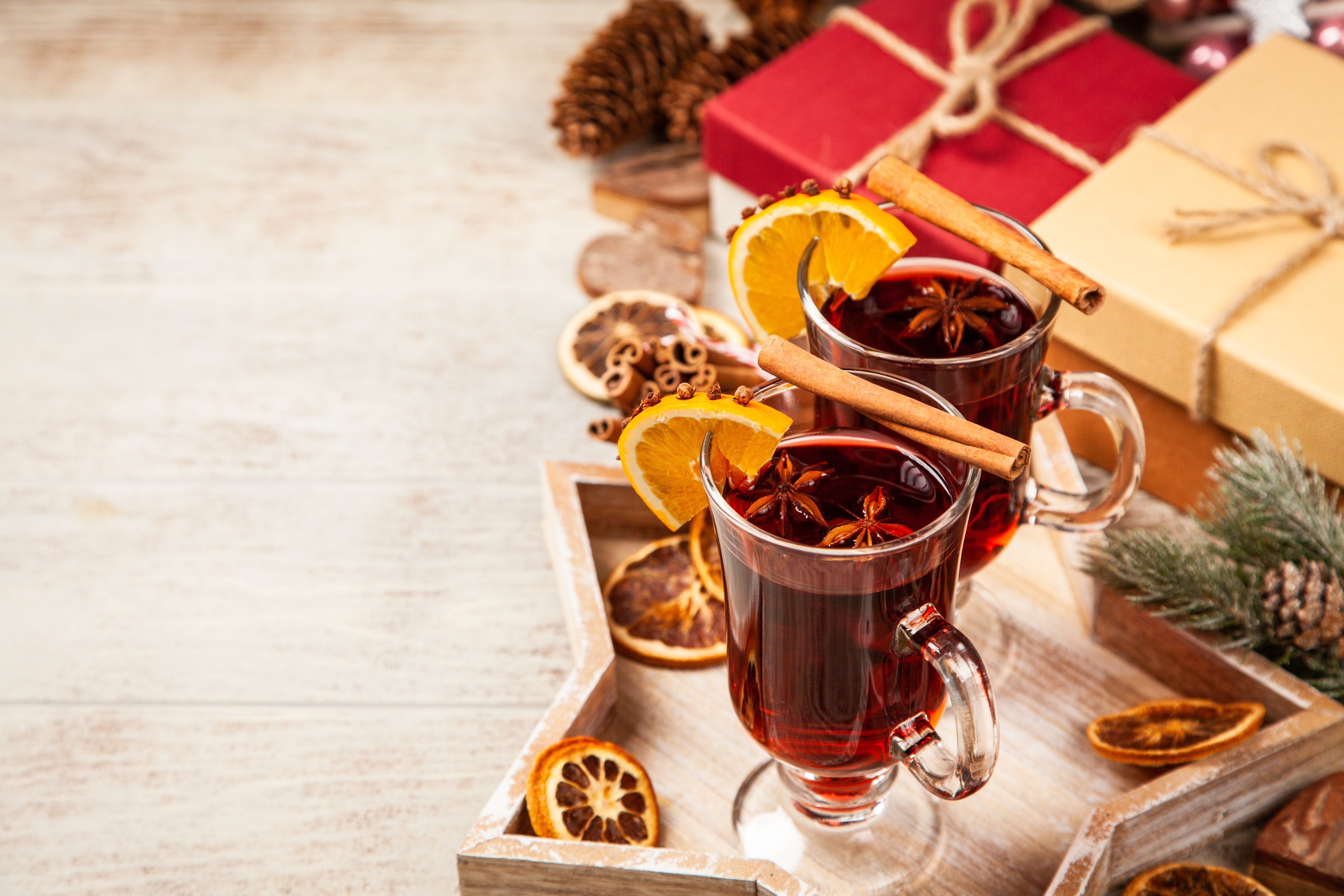 Winter: The ideal time for a glass of Hot wine
